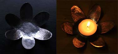 tealight saucers