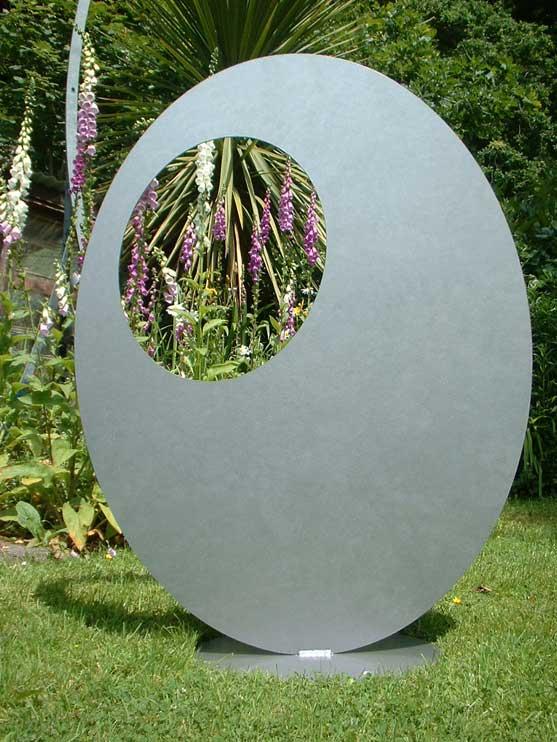 Ovate Sculpture by Iron Vein